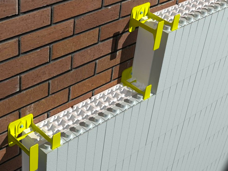 Isolation mur extérieur  solutions ISOVER